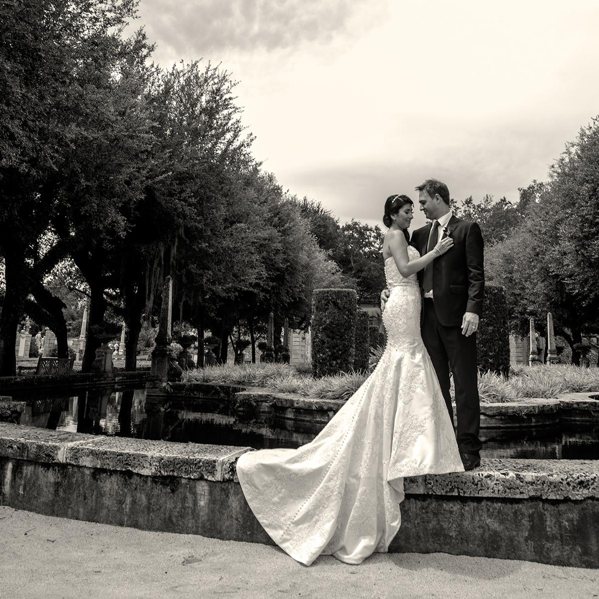 Coral Gables Wedding Couple