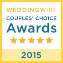 Wedding Wire 2015 Couples Choice Awards