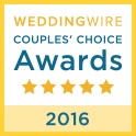 Wedding Wire 2016 Couples Choice Awards